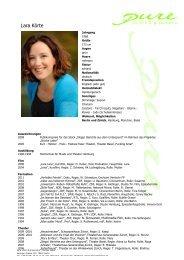 Koerte, Lara 11 - pure actors and presenters