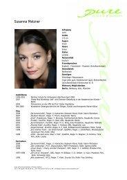 Metzner, Susanna 09 - pure actors and presenters