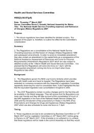 Health and Social Services Committee HSS(2)-04-07(p5) - National ...