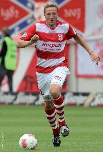 Autogrammkarte Marco Hartmann - Saison 2012/2013 - Hallescher ...