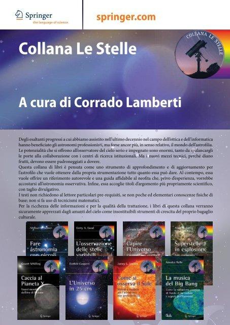 Collana Le Stelle A cura di Corrado Lamberti