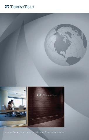 Brochura da Trident Trust em Português