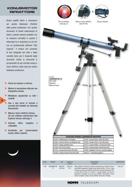 Telescopio KONUS MOTORMAX 90 #1795 Maksutov Cassegrain stelle astronomia cielo