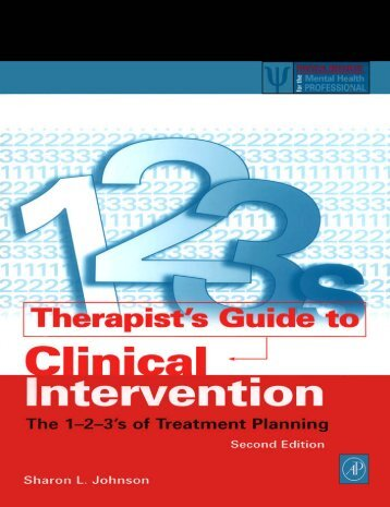 Therapist's Guide to Clinical Intervention - Sigmund Freud
