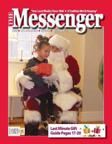 The Messenger – December 17, 2010 – downlad PDF - Granite Quill ...