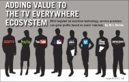 Adding Value to the TV Everywhere Ecosystem - Tellabs