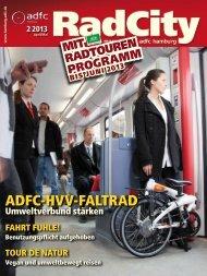 ADFC-HVV-FALTRAD - ADFC Hamburg