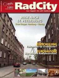 REisE nach st. PEtERsbuRg - ADFC Hamburg