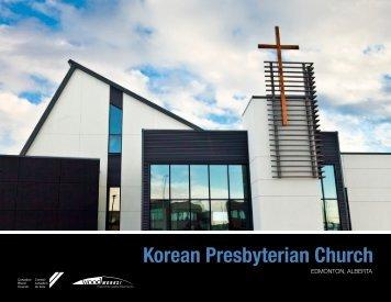 Korean Presbyterian Church - Canadian Wood Council