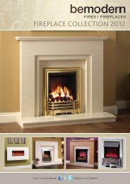 fireplace collection 2012 - Be Modern Ltd