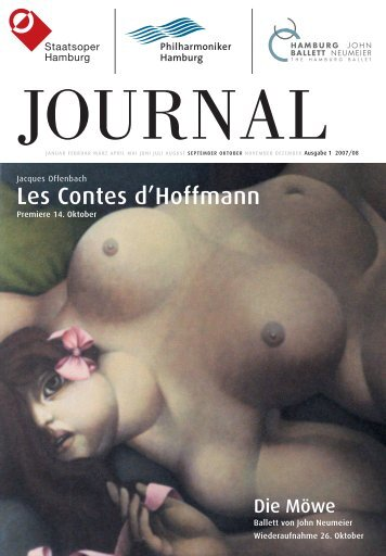 Journal 1 - Hamburg Ballett