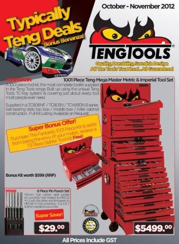 October - November 2012 - Teng Tools