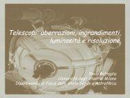 Telescopi - Università degli Studi di Milano