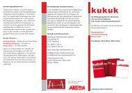 Flyer Handbuch Werbung - Hamburger Arbeitsassistenz