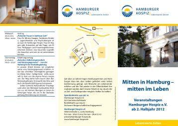 hamburger hospizwoche hospiz am israelitischen krankenhaus. Black Bedroom Furniture Sets. Home Design Ideas