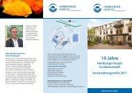 10 Jahre - Hamburger Hospiz im Helenenstift