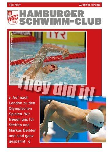 HSC POST 1/2012 - Hamburger Schwimm-Club von 1879 e.V.