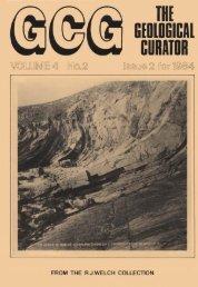 Number 2 - Geological Curators