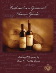 Distinctive Gourmet Cheese Guide - Ben E. Keith