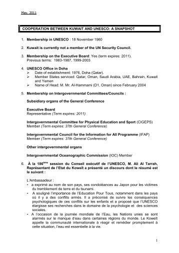 Données et repères essentiels - Unesco