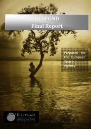 RESPOND Final Report - Esa