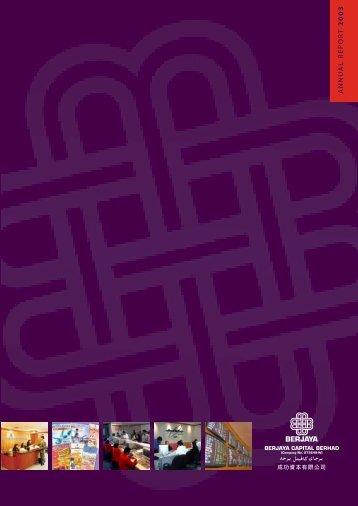 BjCap-AnnualReport 2003 (650KB).pdf - Company Announcements