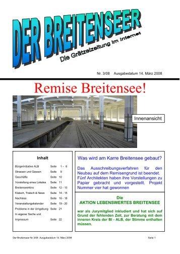 Remise Breitensee! - Der Breitenseer