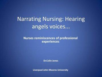 Nurses reminiscences of professional experience - RCN