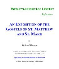An Exposition of the Gospels of St. Matthew and ... - Media Sabda Org