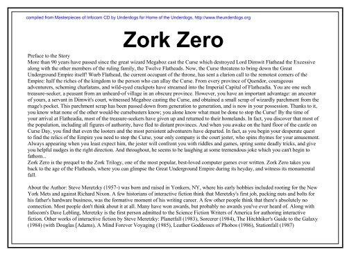 Zork Zero