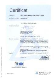 Certificat - Hammer