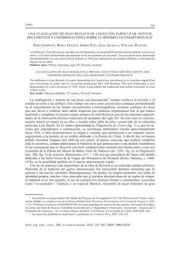 Versión para imprimir - Archivo Español de Arte