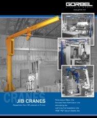 Gorbel Jib Cranes Brochure