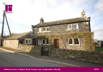 Netherton Farm, 41 Manor Road, Farnley Tyas, Huddersfield, HD4 ...