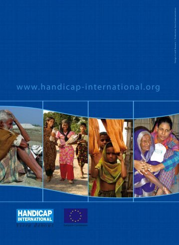 How to include Disability Issues in Disaster Management - Handicap ...