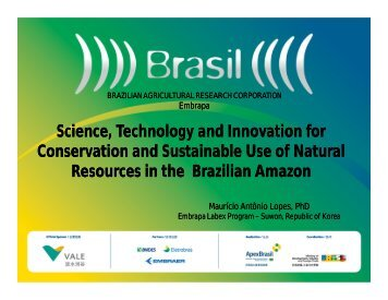 Science, Technology and Innovation for Conservation ... - Labex Korea