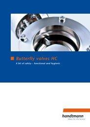 Butterfly valves HC