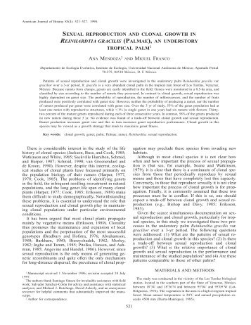 View - American Journal of Botany