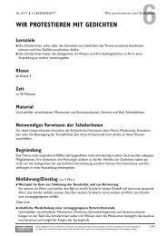 Informationen und Anregungen für die Lehrkraft - Handicap ...