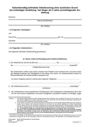 Teilzeit Und Befristete Arbeitsverträge Herfurth Partner