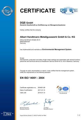 Albert Handtmann Metallgusswerk GmbH & Co. KG