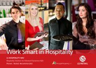 Work Smart In Hospitality - LS Retail Is An