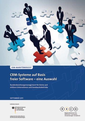 CRM-Systeme auf Basis freier Software – eine Auswahl