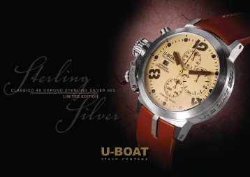 classico 48 chrono sterling silver 925 limited edition - U-Boat