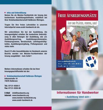 Layout 1 (Page 1) - Kreishandwerkerschaft Heilbronn-Öhringen