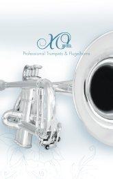 Professional Trumpets & Flugelhorns - Jupiter Canada