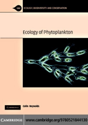 The Ecology of Phytoplankton