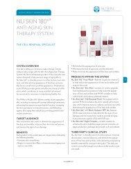 180 Anti-Aging Skin Therapy System - Nu Skin