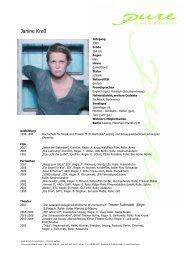 Kress, Janine 08 - pure actors and presenters