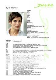 Habermann, Sylvia 09 - pure actors and presenters